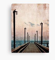 Community Pier Canvas Print