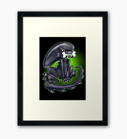 Alien Xeno Framed Print