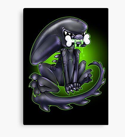 Alien Xeno Canvas Print