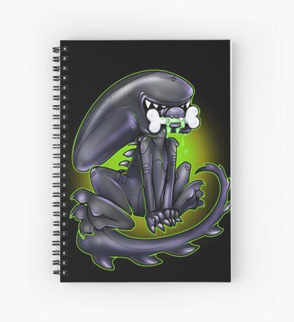 Alien Xeno Spiral Notebook