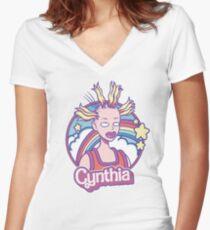 Cynthia Doll Women's Fitted V-Neck T-Shirt