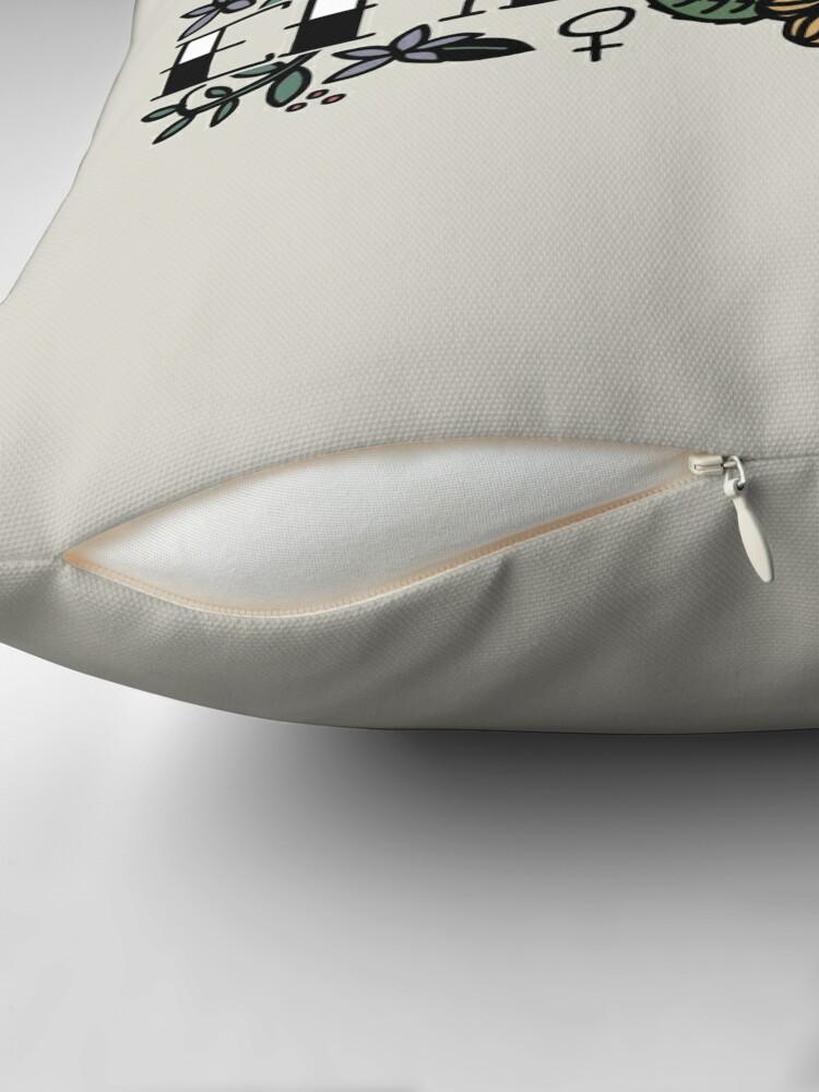 Alternate view of EMPOWER Throw Pillow