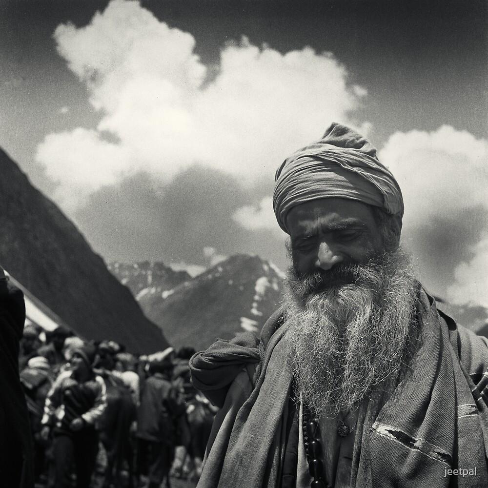 The Sadhu by jeetpal