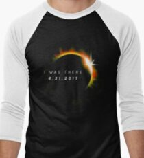 Total Solar Eclipse August 21 2017 Men's Baseball ¾ T-Shirt