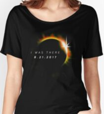 Total Solar Eclipse August 21 2017 Women's Relaxed Fit T-Shirt