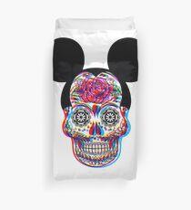 Mickey Skullduggery Duvet Cover