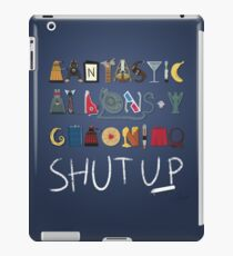Words to Save the World By iPad Case/Skin