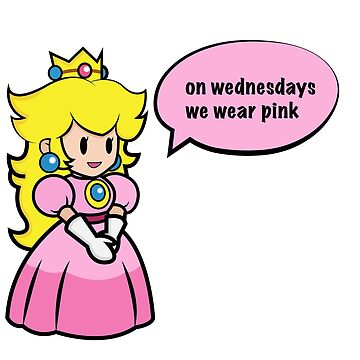 Princess Peach- on Wednesdays we wear pink by skretkowiczm