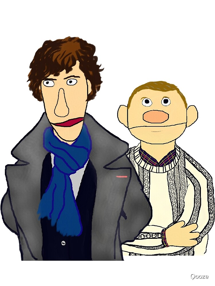 Sherlock and John Muppet Style by Qooze