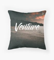 When instinct fails, intellect must venture  Throw Pillow
