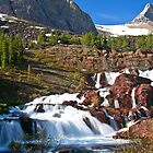 Redrocks Falls by Gary Lengyel