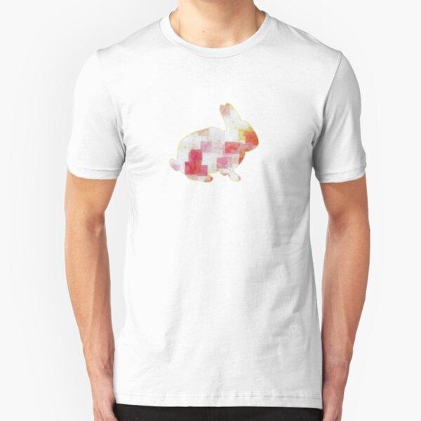 Tea Time Bunny Slim Fit T-Shirt