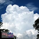 giant puffball in the sky by LoreLeft27