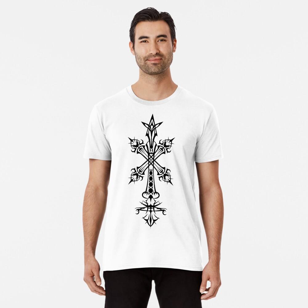 Rood Inverse (Schwarz) Premium T-Shirt