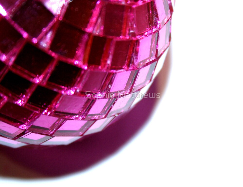 Disco Bauble by Sophie Matthews