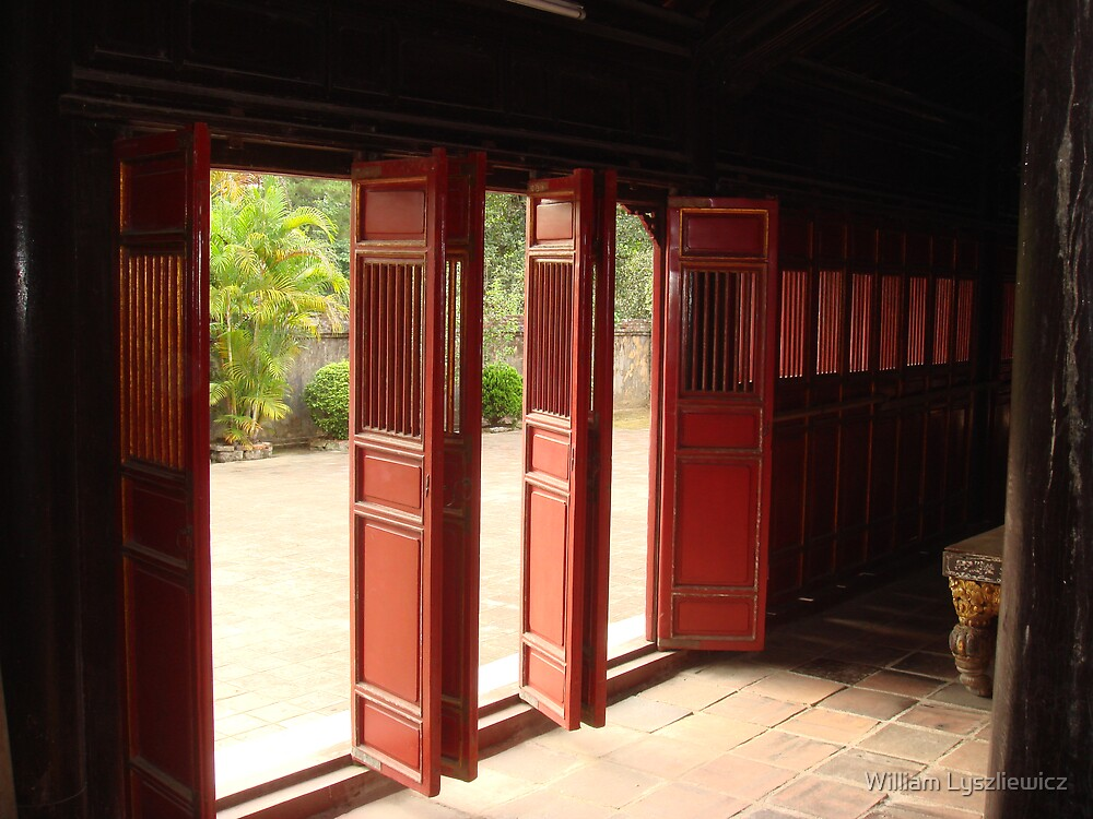 the doors of the temple by william lyszliewicz