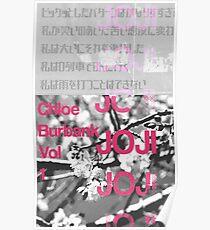 Joji Typography Poster
