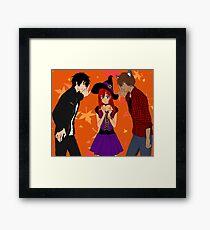 Vampire, Witch, Werewolf Framed Print