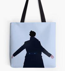 Sherlock The Reichenbach Fall Tote Bag