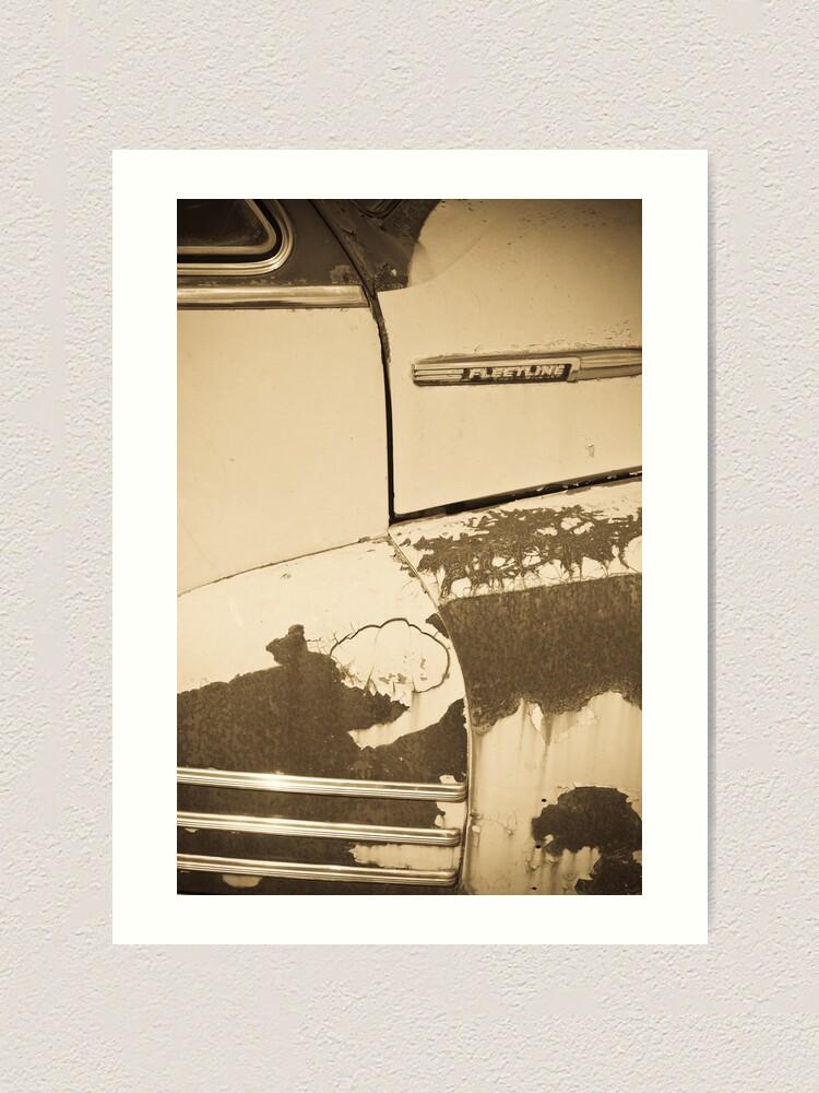 Alternate view of Chevrolet Fleetline (Alan Copson © 2007) Art Print