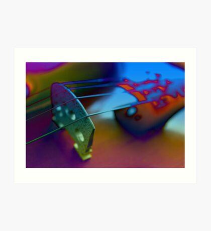 Abstract Violin Art Print