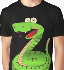 Delirious Snake Graphic T-Shirt