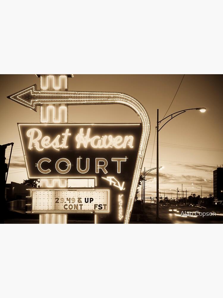 Rest Haven Court Motel. (Alan Copson © 2007) by AlanCopson
