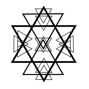 Triangles by ArtByKE