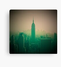 Manhattan Skyline + Empire State Building (Alan Copson © 2007) Canvas Print