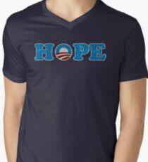 Barack Obama Hope t shirt Men's V-Neck T-Shirt