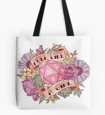 Roll Like a Girl Tote Bag