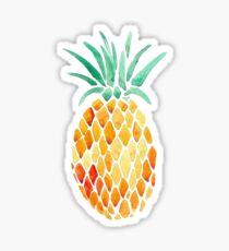 watercolor pineapple Sticker