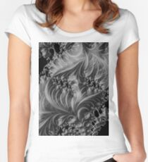 Fractals 9. Women's Fitted Scoop T-Shirt