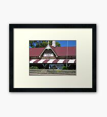 Swap not Shop Framed Print