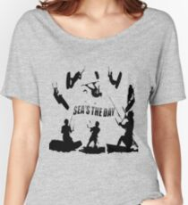Seas The Day Kitesurfing Women's Relaxed Fit T-Shirt