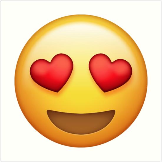 """Résultat de recherche d'images pour """"emoji coeur yeux"""""""