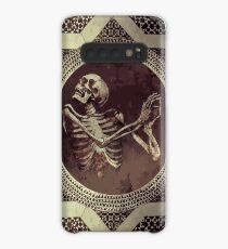Hannibal: Dancing Skull + Skeleton Mosaic  Case/Skin for Samsung Galaxy