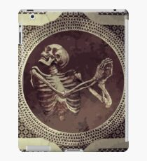 Hannibal: Dancing Skull + Skeleton Mosaic  iPad Case/Skin