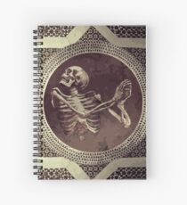 Hannibal: Dancing Skull + Skeleton Mosaic  Spiral Notebook