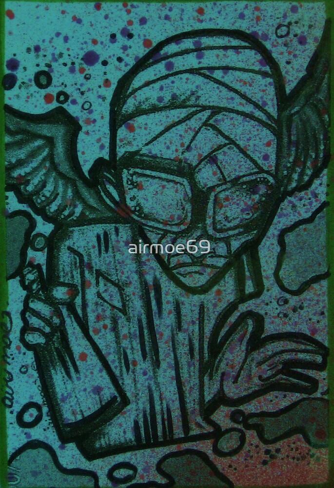 graffiti angel by airmoe69