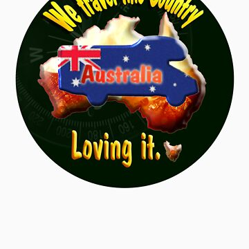 T-shirt for Motorhome and Australia Lovers by JotaEme