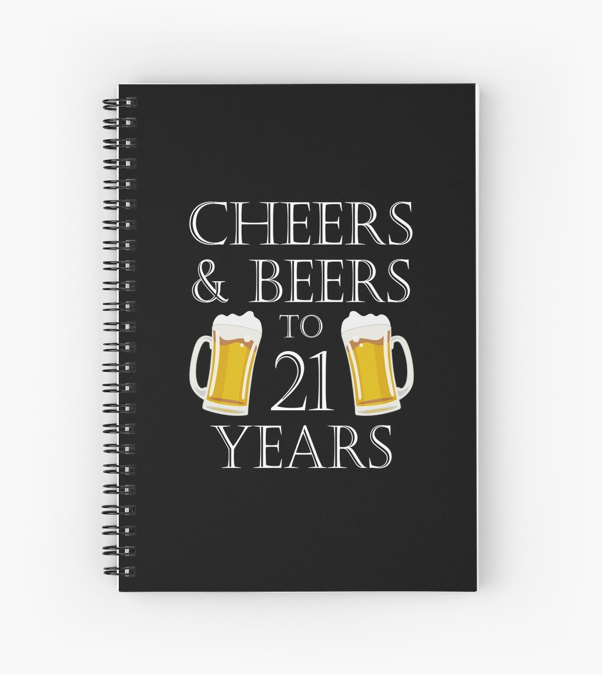 Cheers And Beers To 21 Years 21st Birthday Gift