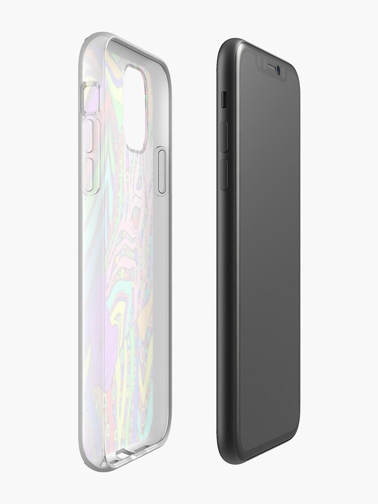 Coque iPhone «Le zèbre-maïs», par STYLES666