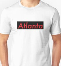 Supremely Atlanta (Black & Red) Unisex T-Shirt