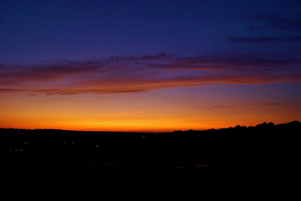 Sunset after the Hurricane by Jim Caldwell