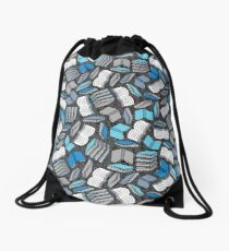 So Many Books... Drawstring Bag