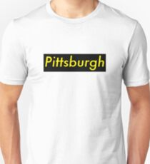 Supremely Pittsburgh (Black & Yellow) Unisex T-Shirt