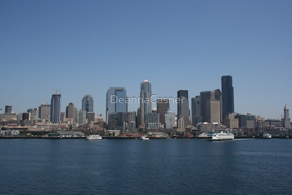 Sunny in Seattle? by DeannaCasner
