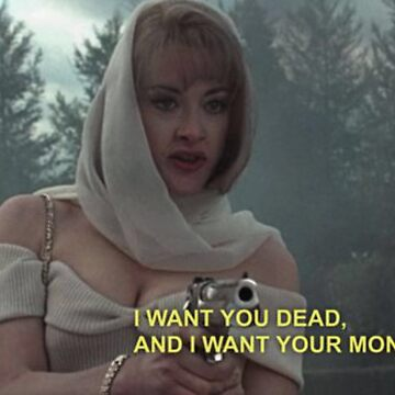 DEBBIE I WANT YOU DEAD AND I WANT YOUR MONEY CARD by 3xcessive