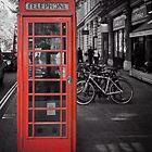 Red Telephone Box by Yukondick